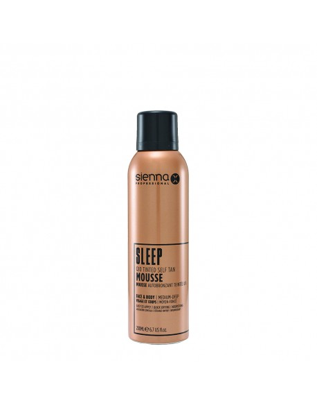 Q10 SELF TAN TINTED MOUSSE SLEEP