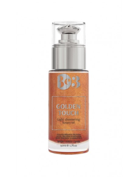 BE3 Golden Touch mirdzuma eļļa 50ml - GOLDEN TOUCH